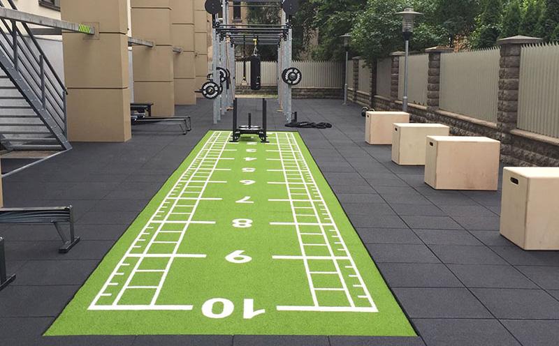 Gym flooring solutions