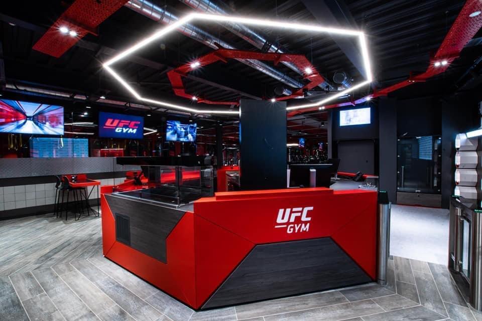 UFC Gym equipment