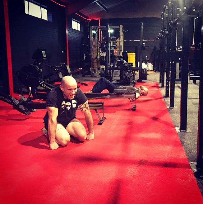 Titan 365 gym flooring