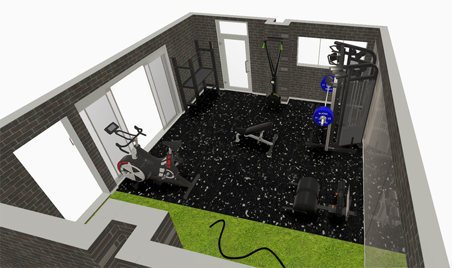 Fitness Bricks 3D